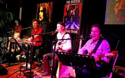 """Sa 22.08.2020, 19 Uhr – Die Rebell(i)sche Studiobühne präsentiert: Die Lonely Hearts Club Band und die """"Beatles-Essenz"""""""