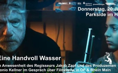 Di 20.07.2021, 19 Uhr – filmklubb – Film – Eine Handvoll Wasser mit Jürgen Prochnow & Pegah Ferydoni