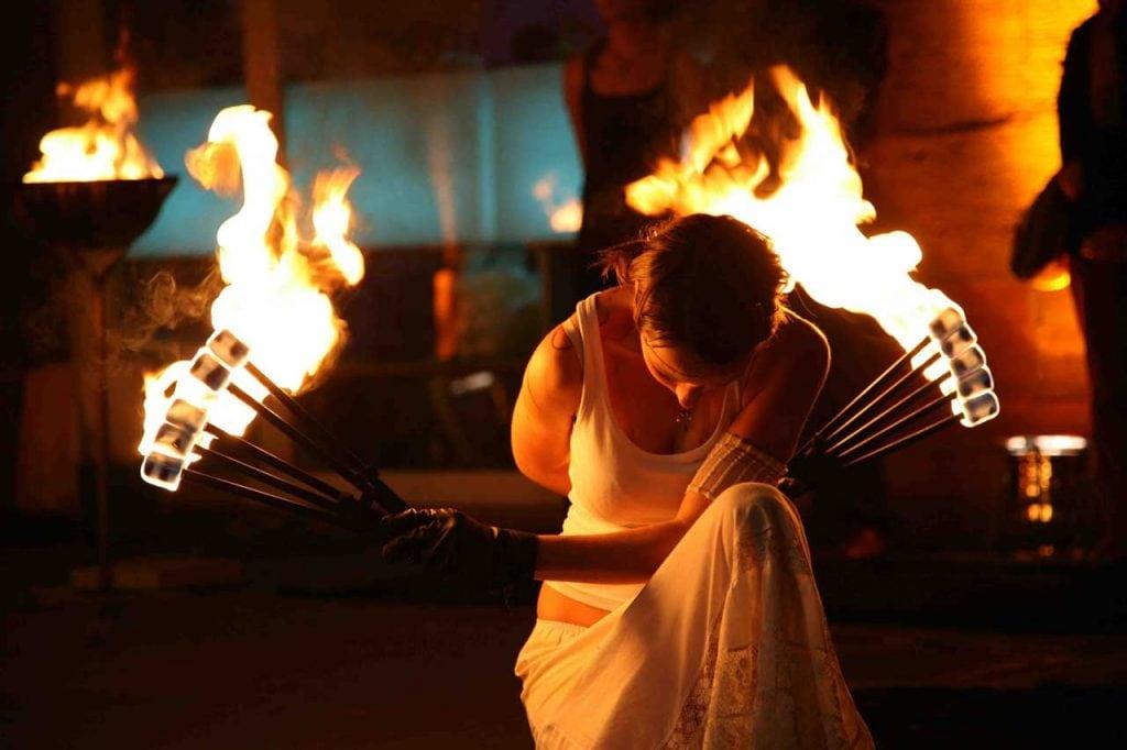poetryfire show firedancer